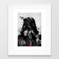 starwars Framed Art Prints featuring StarWars by M.M.Prod