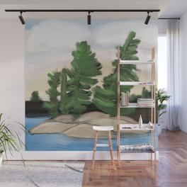 Georgian Bay Trees Wall Mural