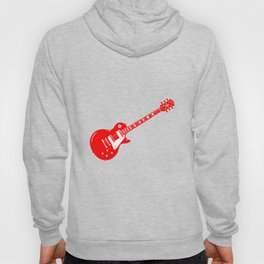 Red Electric Guitar Hoody
