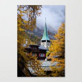 Zermatt, Switzerland Canvas Print