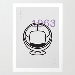 The Ball Chair Art Print