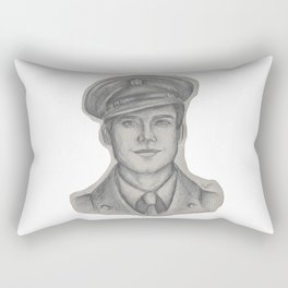 Sgt. James Barnes Rectangular Pillow