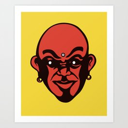 Bold Buddha Art Print
