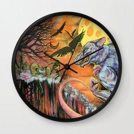 The Dread Were-Rat Wall Clock
