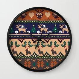 Christmas With You Wall Clock