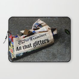 All That Glittered Laptop Sleeve