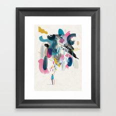 God Metaphor Framed Art Print