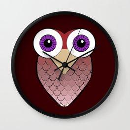 Sofia's Owls Wall Clock