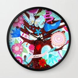 The tree of magic Wall Clock