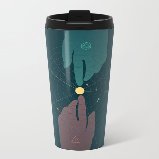Parallel Universe Metal Travel Mug