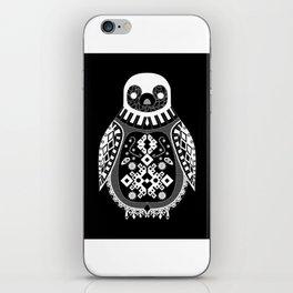 Black Penguin Ecopop iPhone Skin