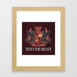 Dragon Crest Framed Art Print
