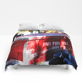For Fire Use Only Comforters