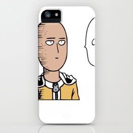 Saitama One Punch Man iPhone Case