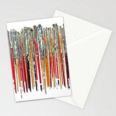 Twenty Years of Paintbrushes Stationery Cards