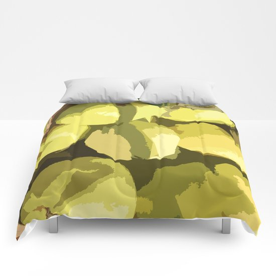 Autumn quinces Comforters