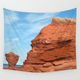 Mohawk Teapot Rock Wall Tapestry