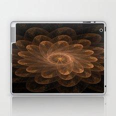 Golden Petals Laptop & iPad Skin