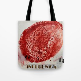 B is for Bird Influenza Tote Bag
