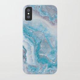 Ocean Foam Mermaid Marble iPhone Case