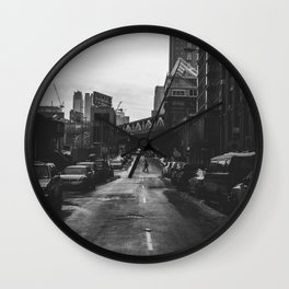 Brooklyn Loner Wall Clock