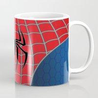 spider man Mugs featuring Spider-Man by C.Rhodes Design