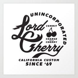 LC California Custom Art Print