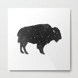 Mystic Buffalo Metal Print