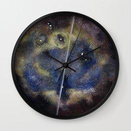Quasar 1-V3 red (Digitally Enhanced) Wall Clock