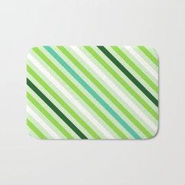 Simply Green Stripes Bath Mat