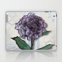 Hydrangea Damask and Quartrefoil Mixed Media Laptop & iPad Skin