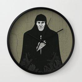Andrei Rublev (cyrillic) Wall Clock