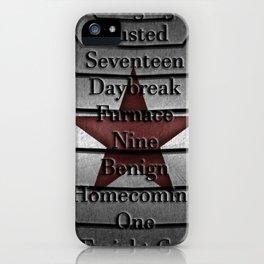 Winter Soldier Activation iPhone Case
