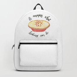 What Baking Can Do Backpack