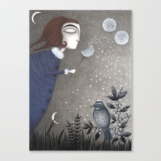 Winter Twilight Canvas Print