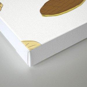 biscui - biscuit pattern Canvas Print