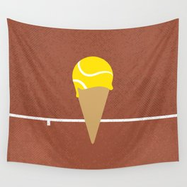 Tennis Ice Cream Wall Tapestry