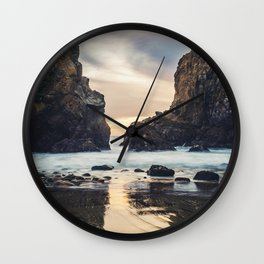 When Ocean Dreams Wall Clock