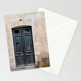 Old fashioned door Stationery Cards