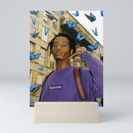 Playboi Carti Butterfly Mini Art Print