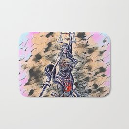 Bloodied Justice Bath Mat