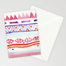 Watercolour Aztec Stationery Cards