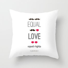 #DOMAdown Throw Pillow