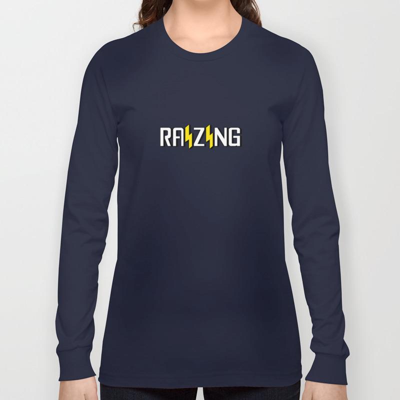 Raizing Logo Long Sleeve T Shirt By Ashleyreichgelt Society6