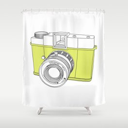 Diana F+ Glow - Plastic Analogue Camera Shower Curtain