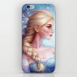 Queen Elsa iPhone Skin