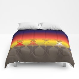 Night Tipi Comforters