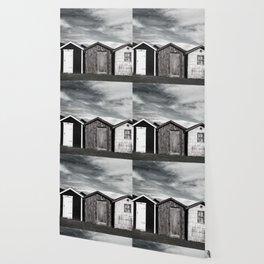 Fishermans home - small huts Wallpaper