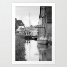 Penryn Bridge Art Print