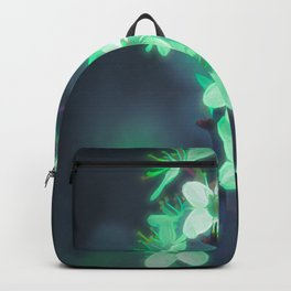 Another World - Glowing Flowers Backpack
